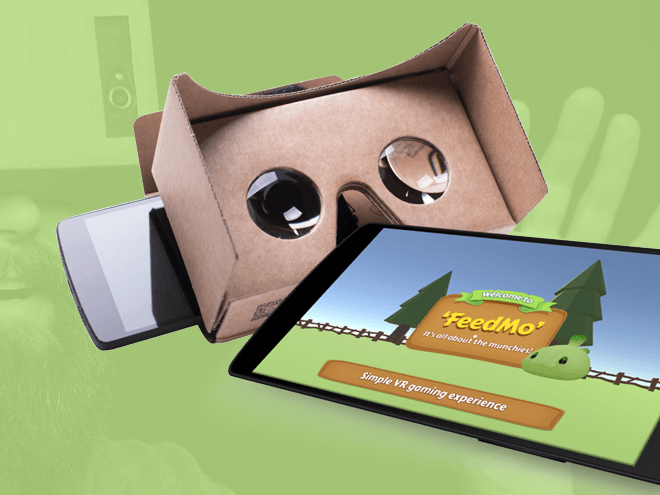 FeedMo - VR game for Google Cardboard